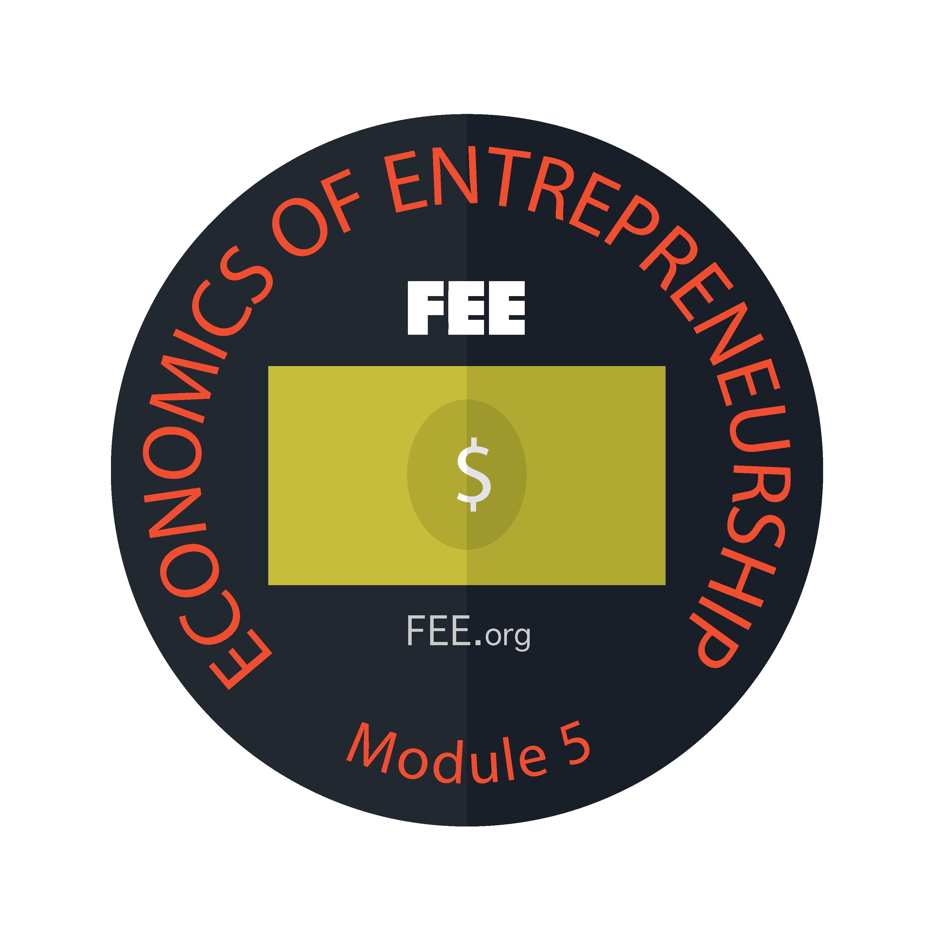 Fee module 5 badge